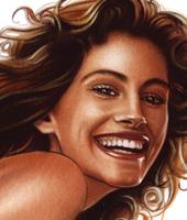 Pin-Up Julia Roberts-Carlos Diez-ilustracion-estudio C10-