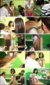 Body painting, aerografia, ilustracion de maquillaje corporal de Carlos Diez.
