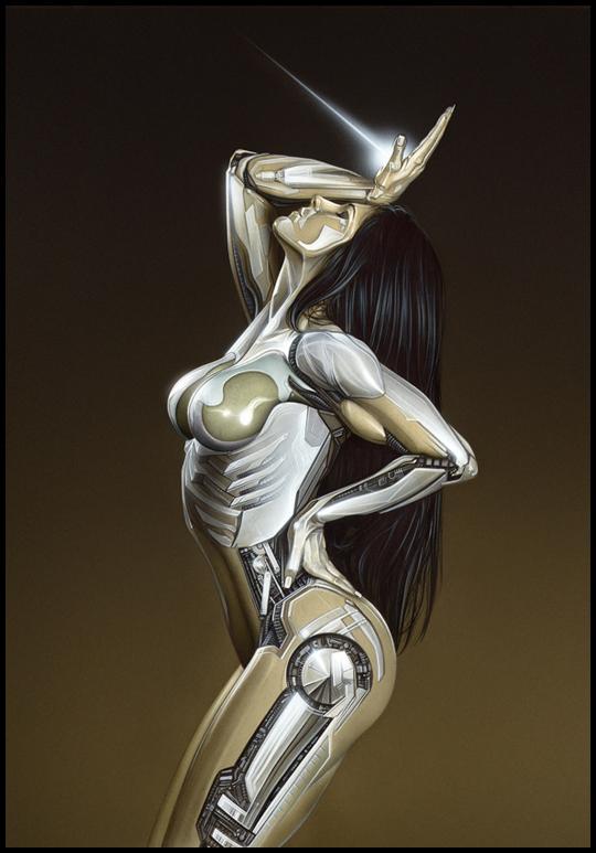 Wonder woman. Ana Vilar. Ilustracion aerografia aerografo Carlos Diez
