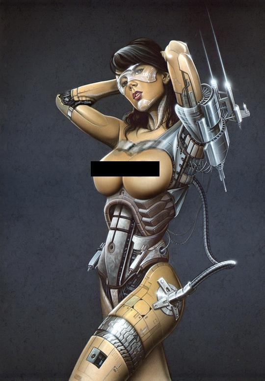 Sandra Galera Ginoyde censura espectacular aerografia Carlos Diez