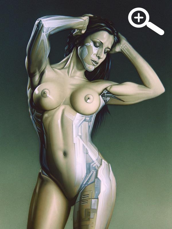 Carla Juaranz ilustracion aerografia Carlos Diez