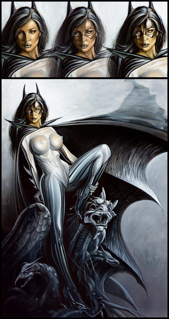 Batwoman-1010-ilustracion-aerografia-carlos-diez-aerografo
