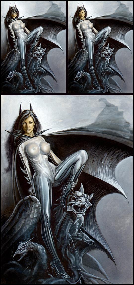 Batwoman-666-ilustracion-aerografia-carlos-diez