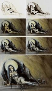 Monika-99-ilustracion-aerografia-aerografo-carlos-diez