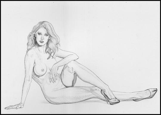 Saskia Leon-2-ilustracion-aerografia-carlos diez-pin up