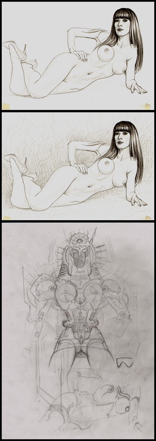 Carlos-Diez-Simone-Vitek ilustracion-aerografia