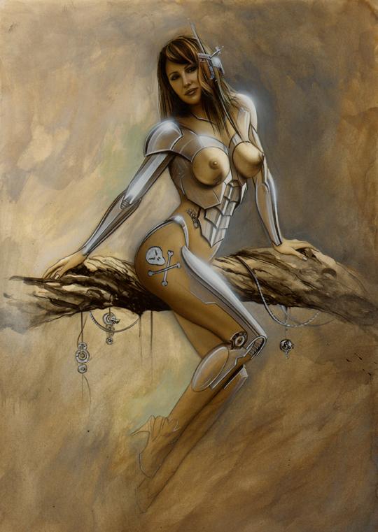Gizane Sastre-ilustracion-carlos-diez-aerografia