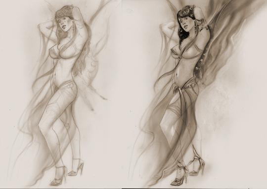 Sandra Galera-hada-ilustracion-aerografia-carlos-diez
