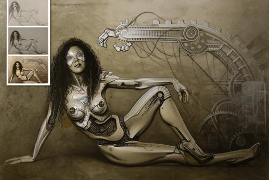 Monika Demon-Carlos Diez-ilustracion-aerografia-cursos-2