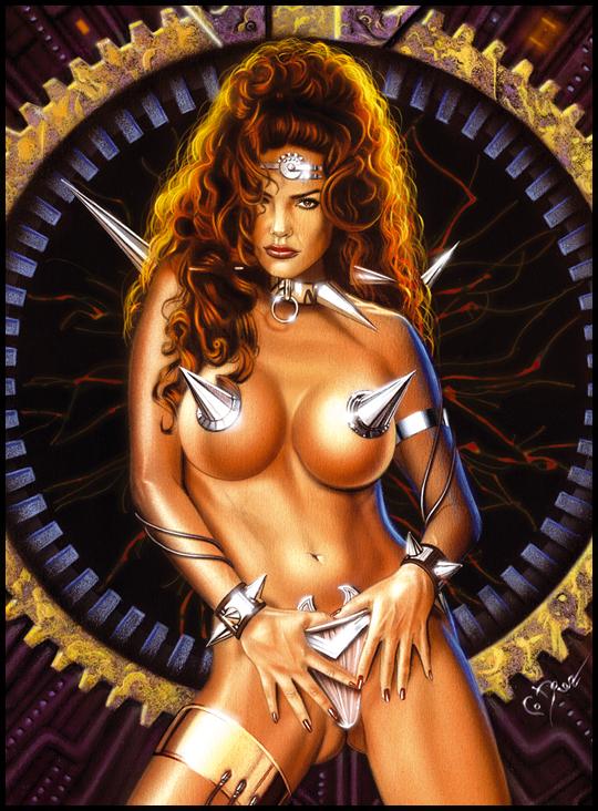Julie Strain-3-muy-sexy-aerografia-ilustracion-por-Carlos-Diez-copia