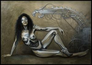 Monika-exotica-ilustracion-aerografia-aerografo-carlos diez-ilustrador copia