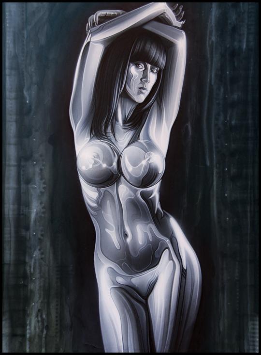 Sandra-pin-up-fantasia-Carlos-Diez-ilustrador-aerografia-fotografo-C10-estudio