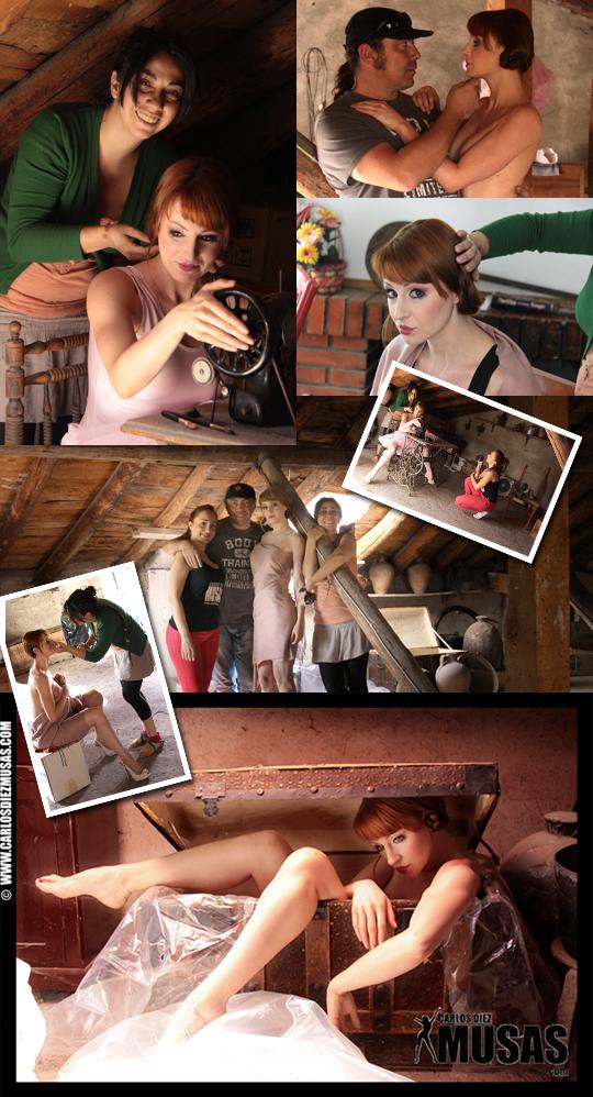 Making off posado gizane fotografia erotica carlos diez desnudo artistico