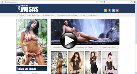 Fotografias de desnudo erotico refinado del fotografo e ilustrador pin up Carlos Diez