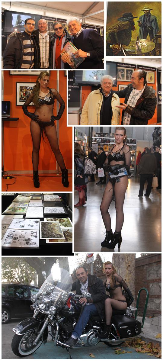 imagenes de la feria de expocomic, tebeos, ilustracion, manga, cossplay...