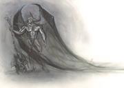 ilustracion de moda fantasia epica heroes del ilustrador Carlos Diez. Aerografia. Aerografo y tecnicas mixtas 2.