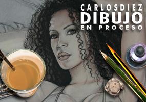 Ilustracion y diseo moda pin up fantasia Carlos Diez dibujante ilustrador disenador super heroinas