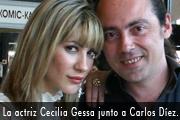 La actriz Cecilia Gessa fotos pin up sex simbol estrena obra de teatro copia