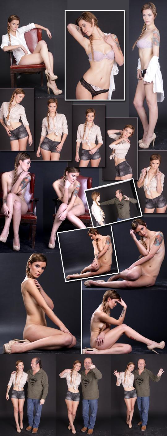 Fotografias de modelo femenino desnudo artistico moda pin up Carlos Diez Fotografo.