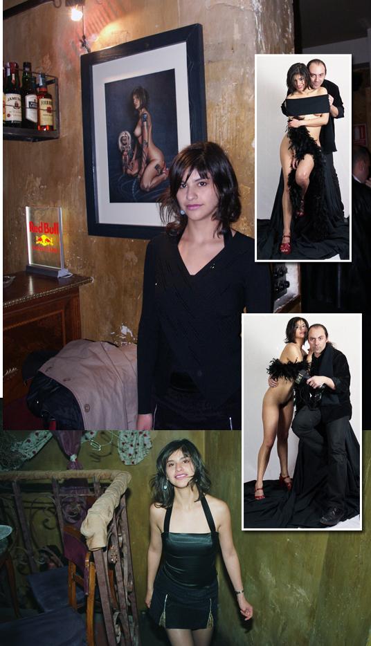 Fotografias de modelos de Carlos Diez fotografo diseñador de moda Pin Up