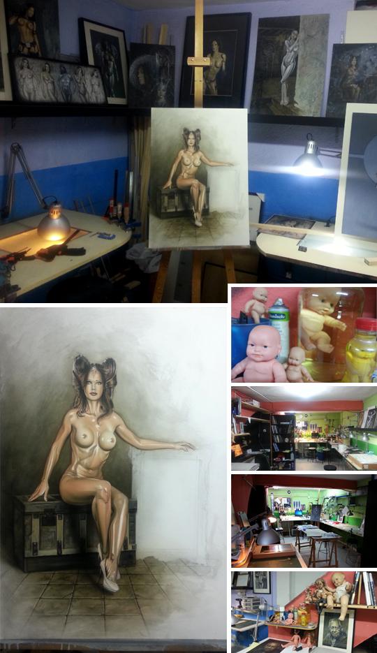 carlos-diez-ilustracion-boceto-aerografia-fantasia-maniquis-modelo-desnudo-mujer-sexy