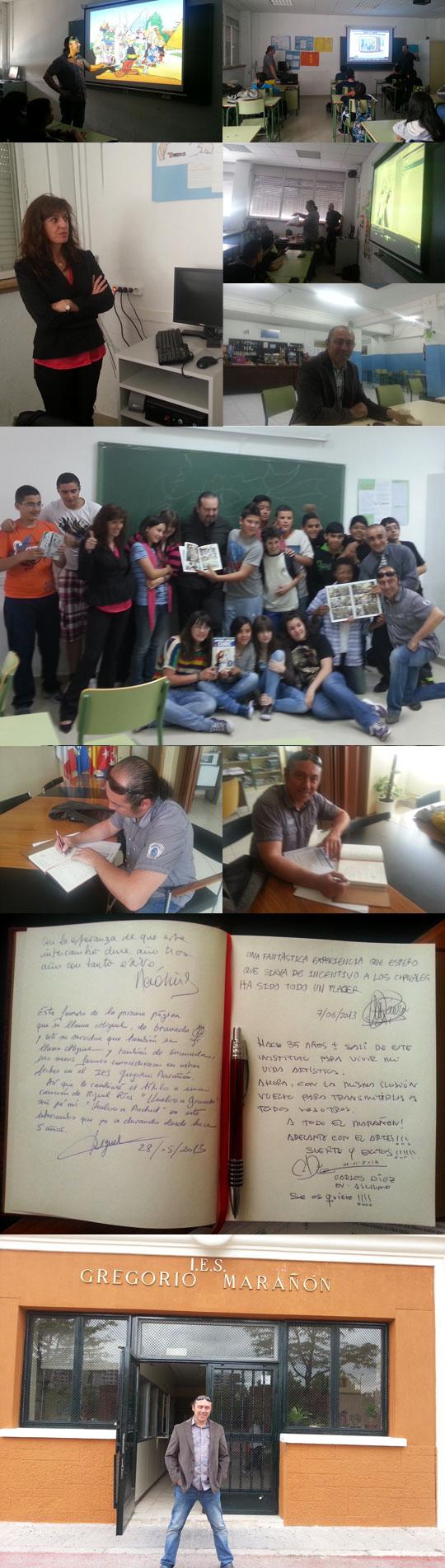 Carlos-Diez-masterclass-clase-magistral-comic-instituto-Gregorio-Maranon-madrid-academia-c10