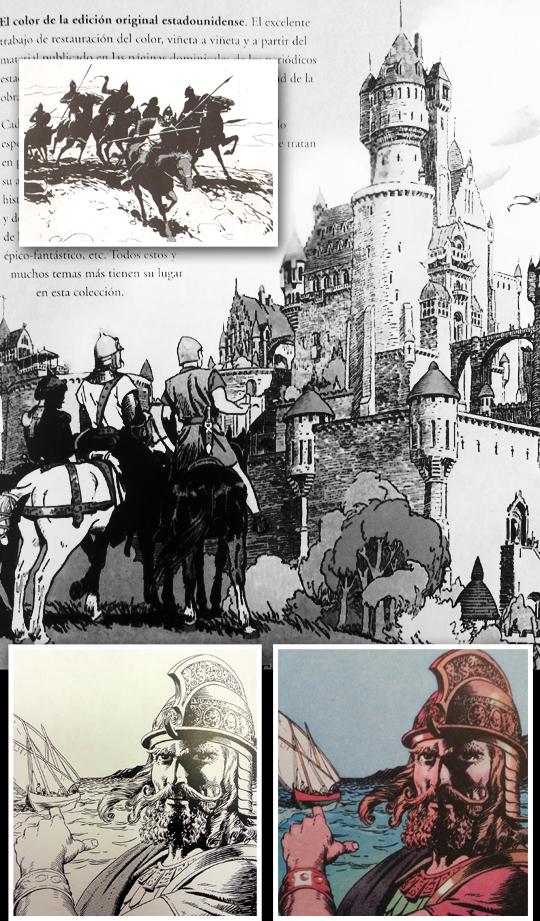 principe-valiente-harold-foster-val-ilustracion-aerografia-carlos-diez-madrid-aerografo-comic-dibujo-cursos-2