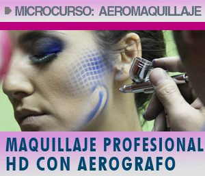 microcurso de aerografia maquillaje de moda