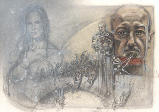 boceto-ilustracion-aerografia-emilio-gonzalo-carlos-diez-aerografo-dibujo-comic