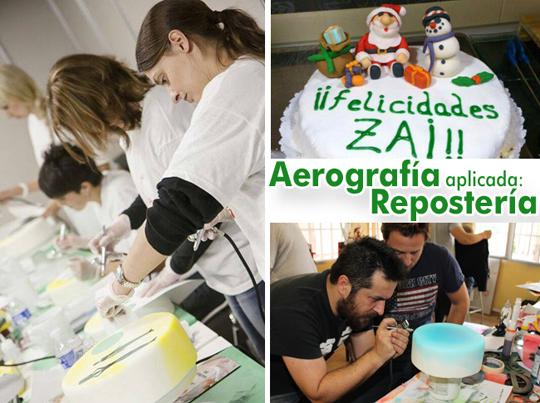 Trabajos de alumnos en cursos de aerografia de carlos diez en academia c10 de madrid