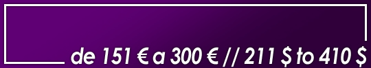 obras valoradas entre 151 y 300 euros