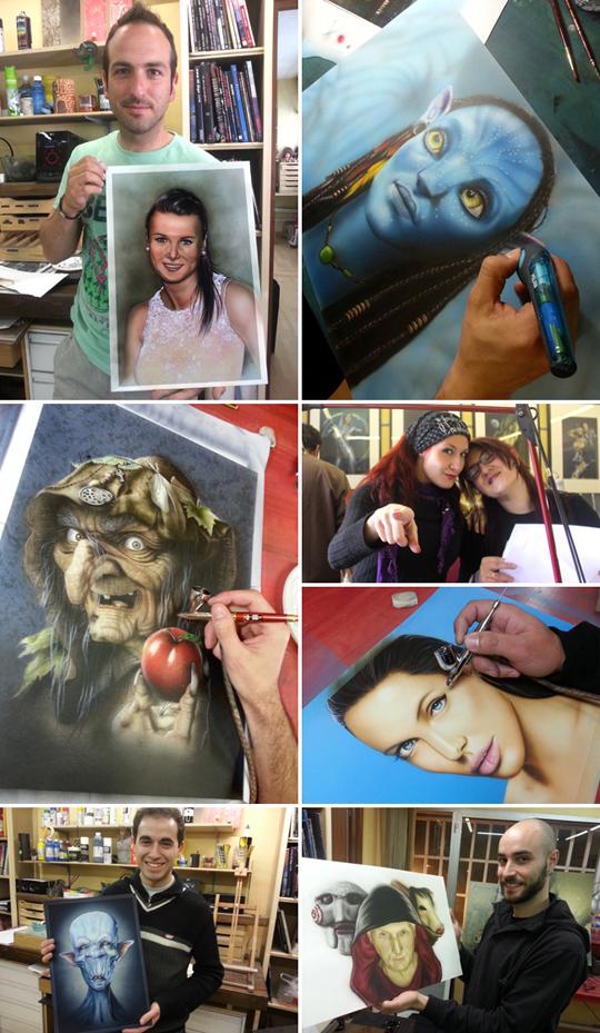 Aerografia-aerografp-clases-cursos-ilustracion-comic-dibujo-academia-c10-carlos-diez-madrid-