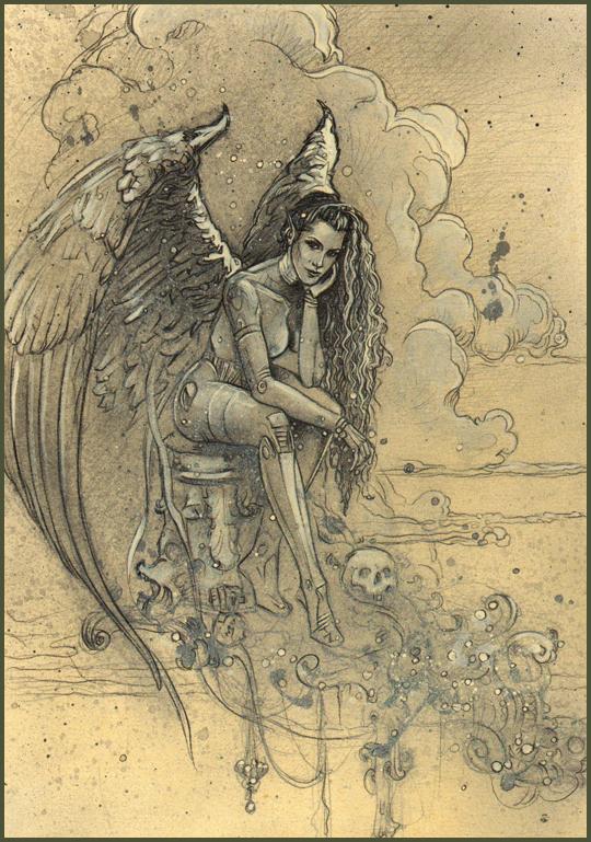 Carlos Diez Dibujo ilustracion pin up moda aerografia