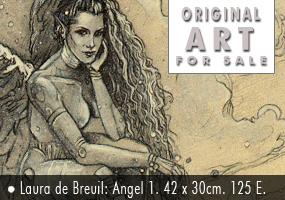 Laura de Breuil: boceto