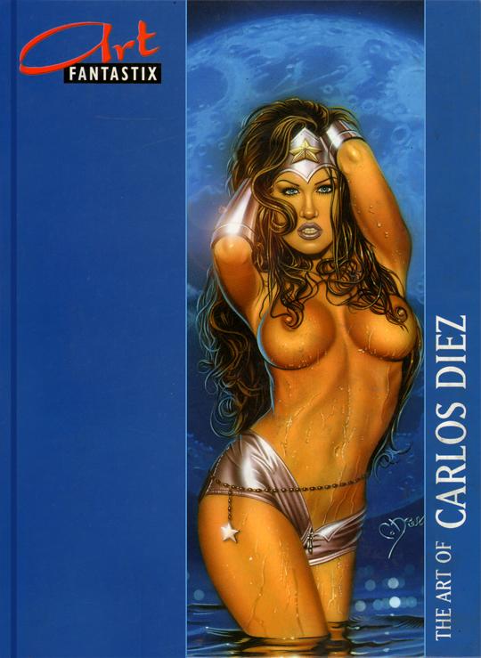 Carlos Diez-libro-ilustracion-pin up-aerografias