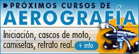 Cursos de Aerografía.