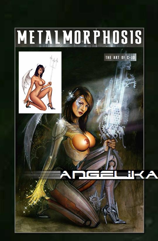 Angelika-Carlos Diez-aerografia-ilustracion-pin up-moda fantasia