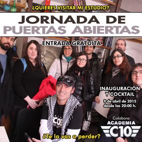 Carlos Díez: jornada de puertas abiertas en el estudio del ilustrador. Jueves 9 de abril de 2015.