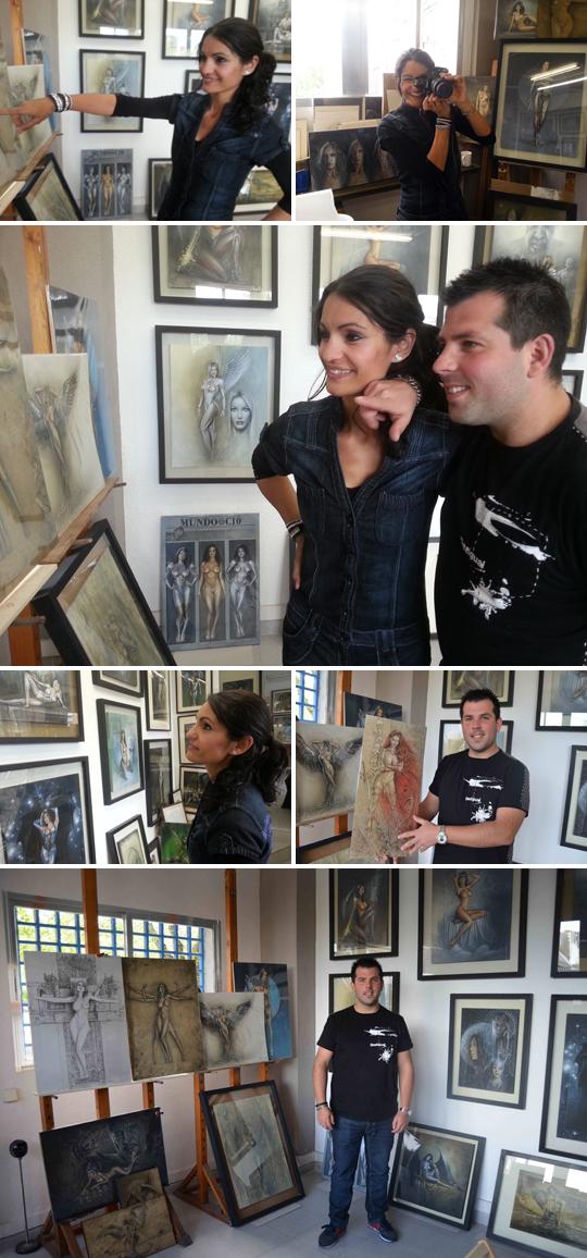 Carlos Diez_estudio_show room_dibujos_ilustracion_aerografia_artista