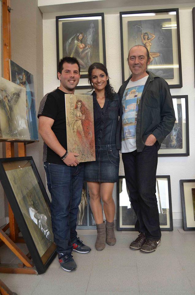 Carlos Diez_estudio_show room_dibujos_ilustracion_aerografia