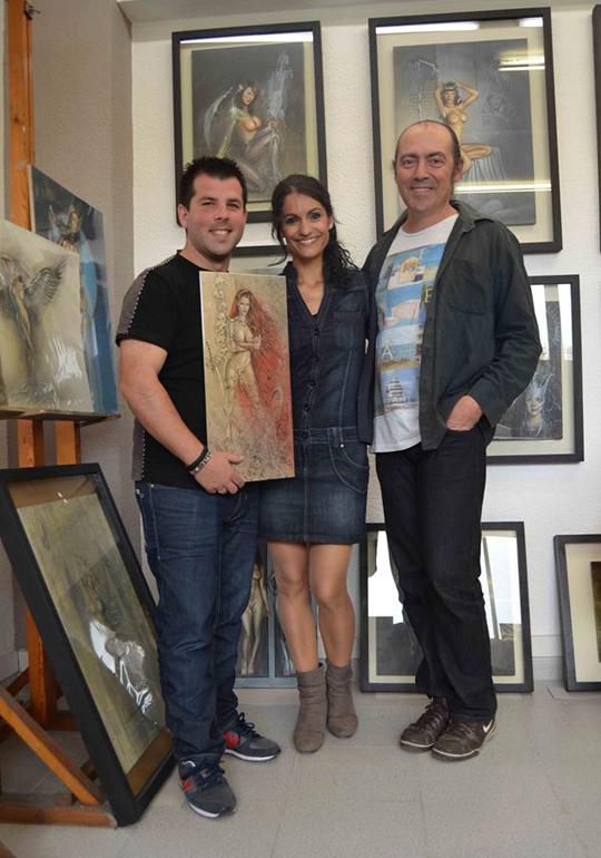Carlos-Diez_estudio_show-room_dibujos_ilustracion_aerografia_Carlos-Vilches