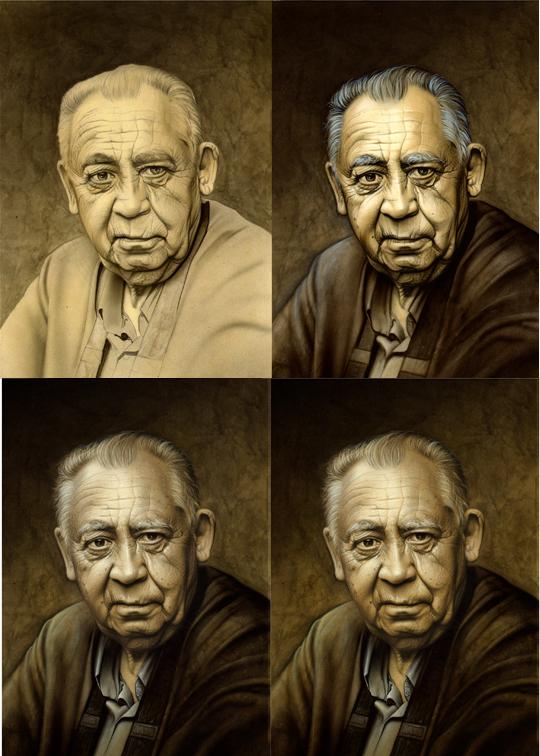 carlos diez_aerografia_paso a paso_arte en venta_ laminas_plotters_impresion_retrato_familia_aerografia_1