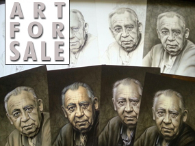 Art For Sale: Retrato paso a paso en venta