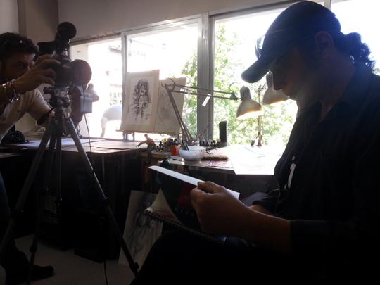 carlos diez_entrevista_academia c10_aerografia_artista_madrid estudio4