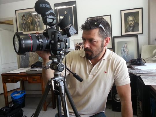 carlos diez_entrevista_academia c10_aerografia_artista_madrid estudio5