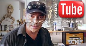 Entrevista con Carlos Díez en su estudio