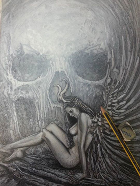 Más bocetos de Carlos Díez