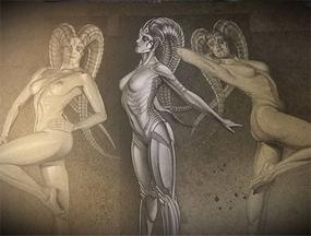 Bocetos de Carlos Díez con temática Star Wars
