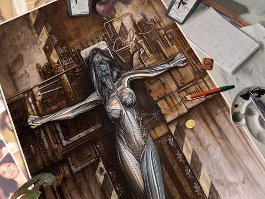 metalmorphosis_carlos diez_libro_illustration book_libro de ilustracion_academia c10_sexy