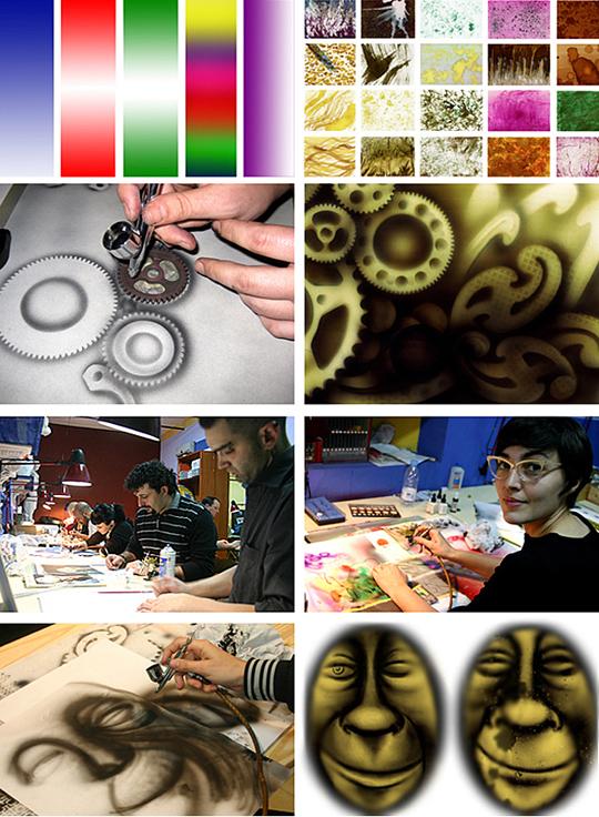 aerografia_academia c10_aerografo_cursos de aerografia_ arte_ilustracion_customizacion_cascos y carrocerias